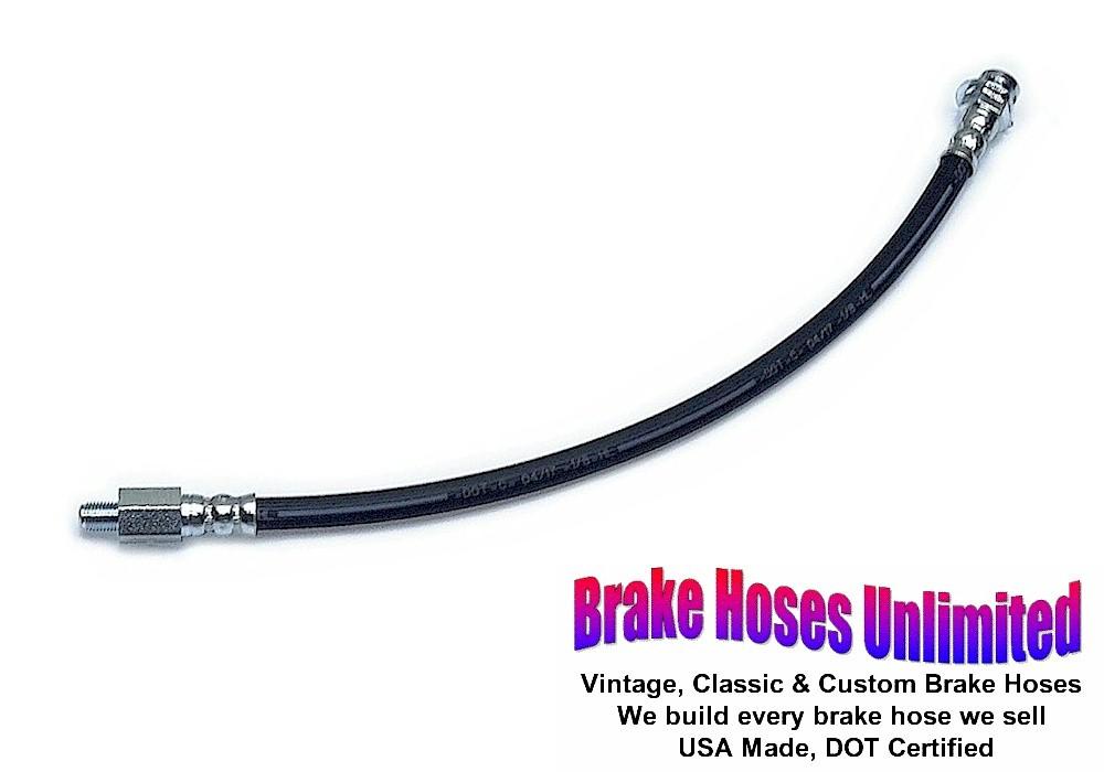 BRAKE HOSE Ford Thunderbird 1958 Front brake to Connector