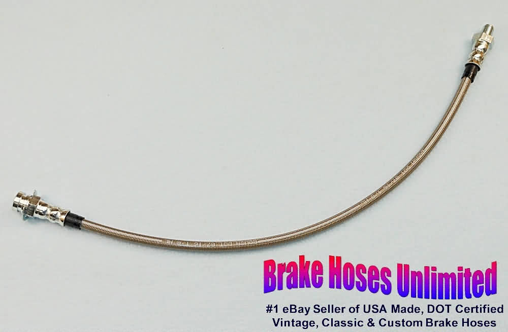 1964 1965 Chevy GMC Truck 3//4 Ton 4wd Longbed Rear Brake Cable Pair Stainless