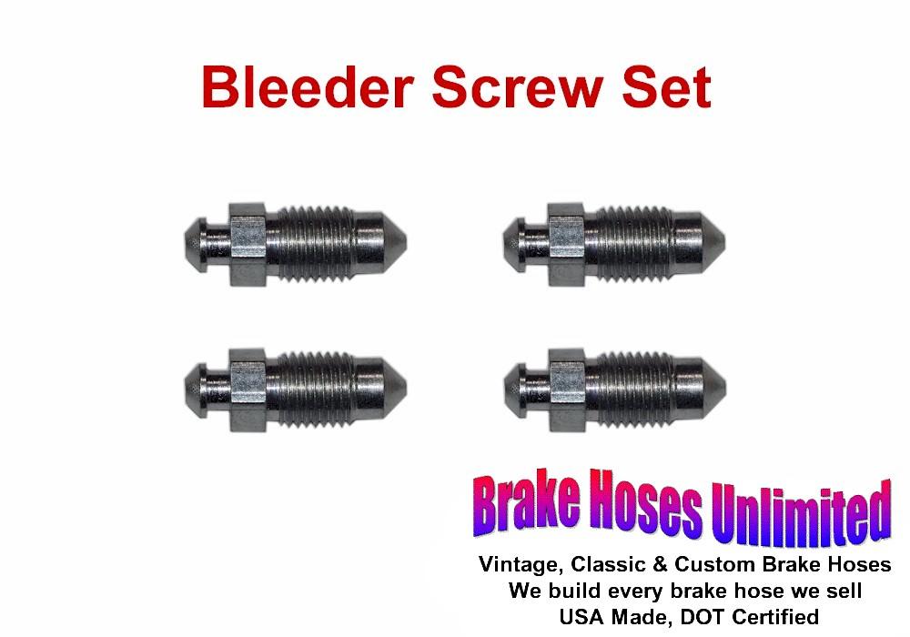 BLEEDER SCREW SET Ford Car 1950 1951 1952 1953 1954 1955